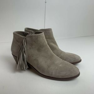 Sam Edelman Ankle Booties Brown Leather